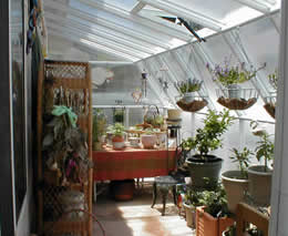 sunroom leanto greenhouse